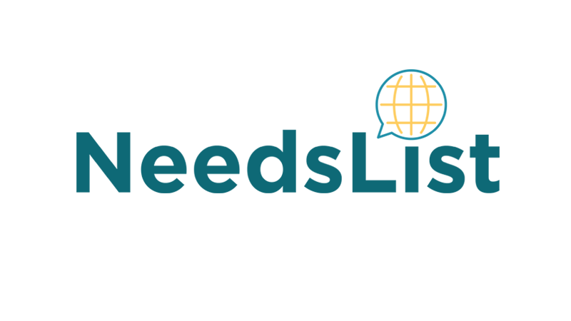 Logotipo de NeedsList.